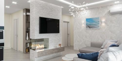 Дизайн-проект  квартиры в ЖК Victory V, 86 м.кв.