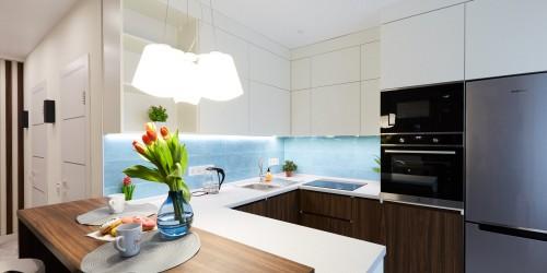 Дизайн-проект 1-комнатной квартиры в ЖК Козацкий — 46м.кв.