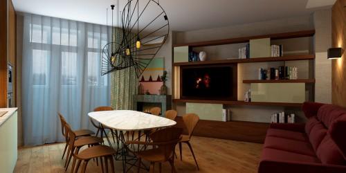 Дизайн-проект 3-комнатной квартиры, 68 м.кв