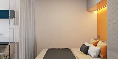 Дизайн-проект 2-комнатной квартиры Loft Studio в ЖК Глория Парк, 81м.кв