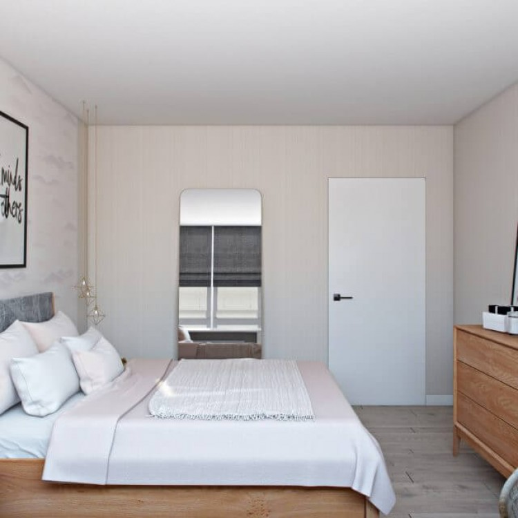 Спальня – отличное фото portes № 1192