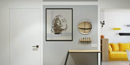 Дизайн-проект 1 комнатной квартиры ЖК Династия 49 м.кв.