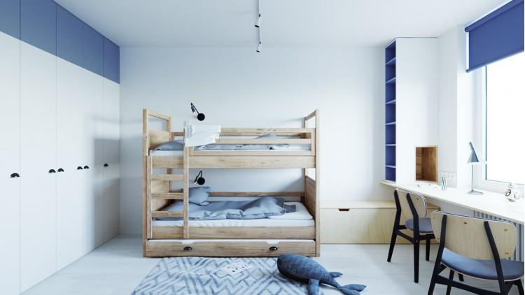 Детская в дизайн-проект 2 комнатной квартире ЖК Наш Будынок, 68 м.кв — Надежда Власенко