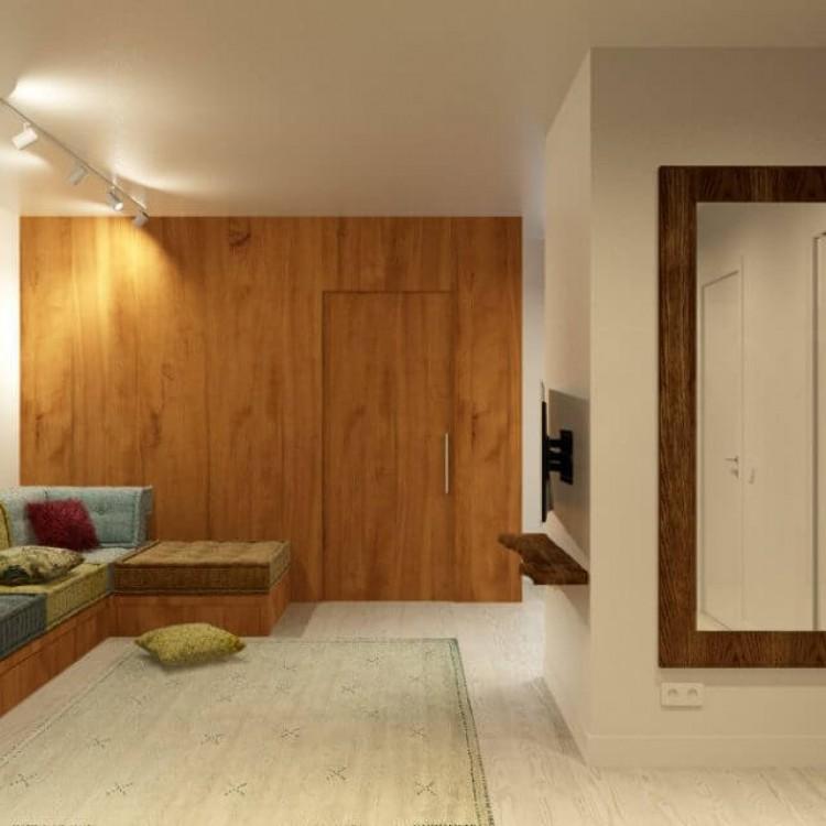 Кухня студия      – фото интерьера № 1210