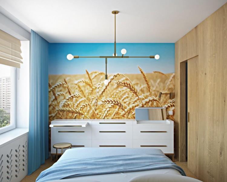 Спальня  – фото интерьера № 1217