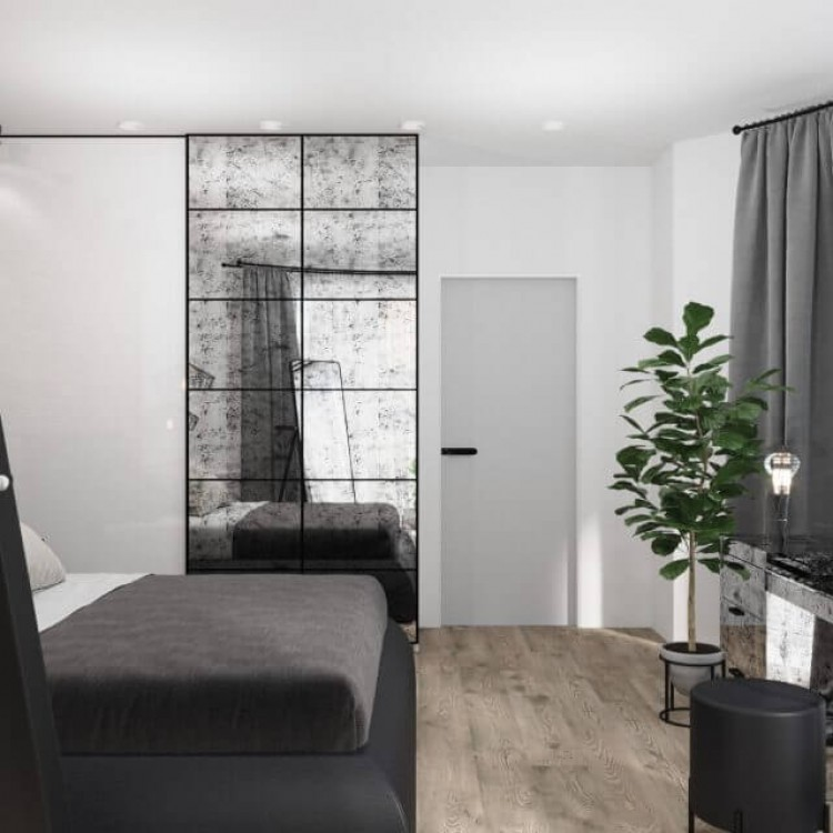 Спальня    – фото интерьера № 1050