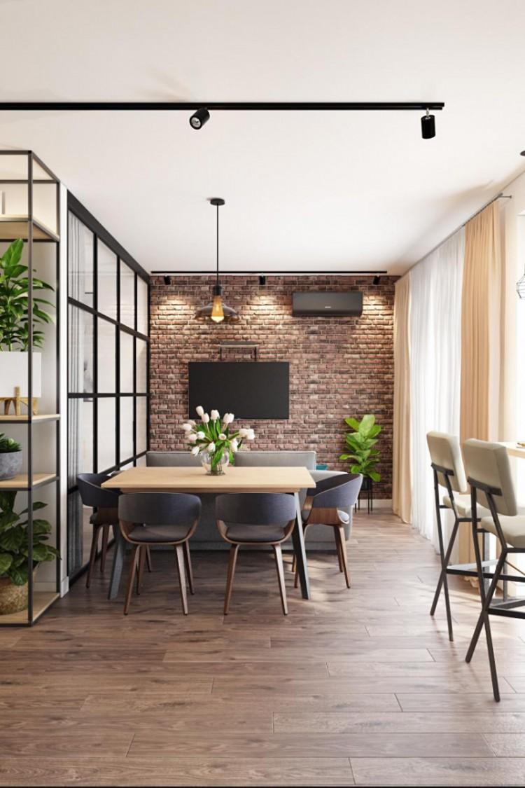 Дизайн столовой-кухни, фото 9