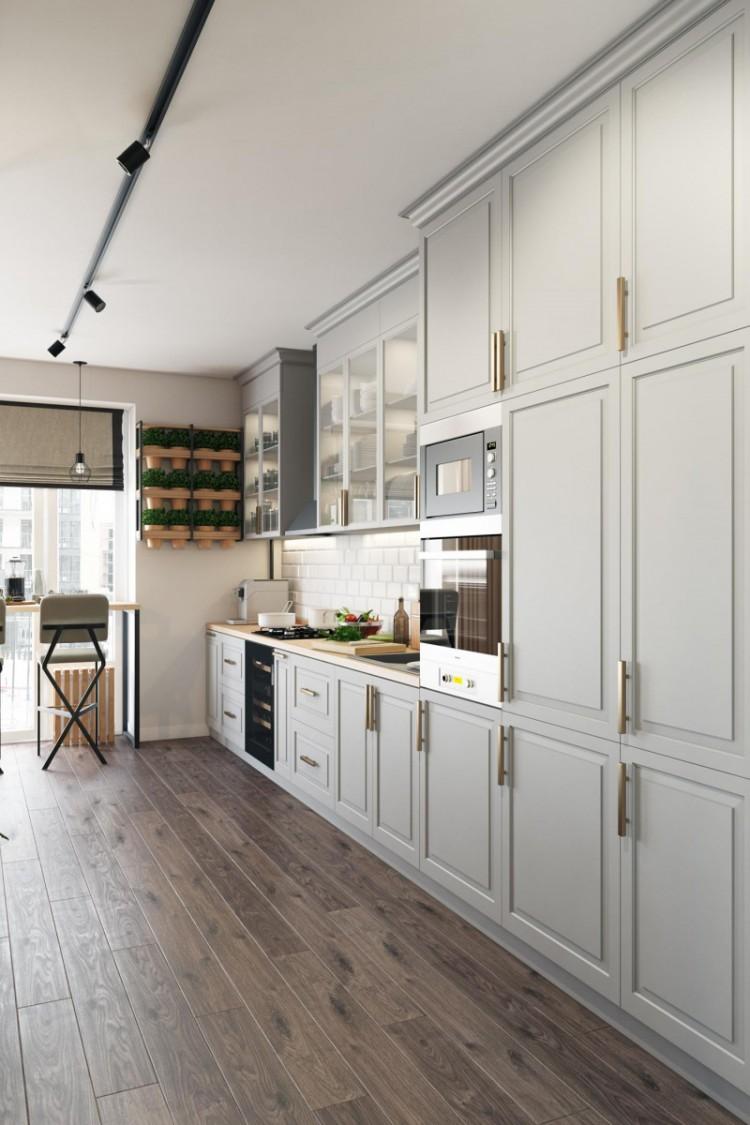 Кухня в стиле минимализм , фото 10
