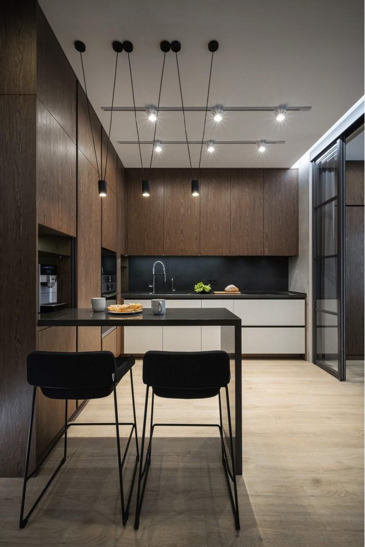 """Кухня — Дизайн-проект 3-комнатной квартиры """"Два Француза"""" в ЖК Alter Ego, 81м.кв — студия дизайна Novoselskiy Design"""
