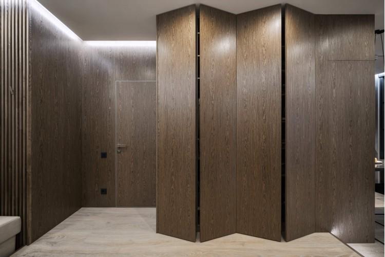 """Коридор — Дизайн-проект 3-комнатной квартиры """"Два Француза"""" в ЖК Alter Ego, 81м.кв — студия дизайна Novoselskiy Design"""