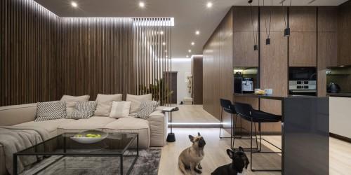 """Дизайн-проект 3-комнатной квартиры """"Два Француза"""" в ЖК Alter Ego, 81м.кв"""