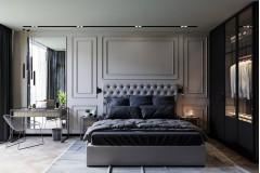 На изображении дизайн спальни студия Novoselskiy Design