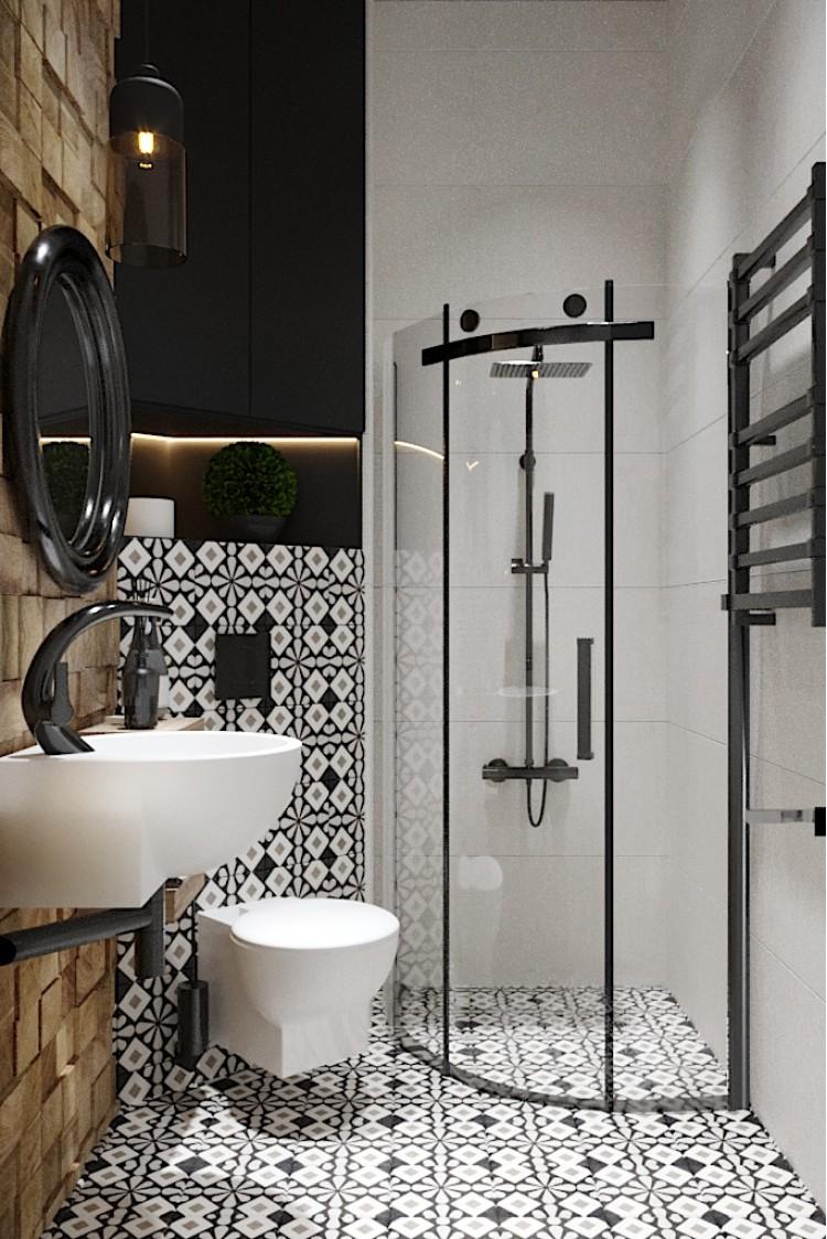 Фото дизайна: Санузел-1 – Квартира в Эко-стиле, 77 м.кв – 1705