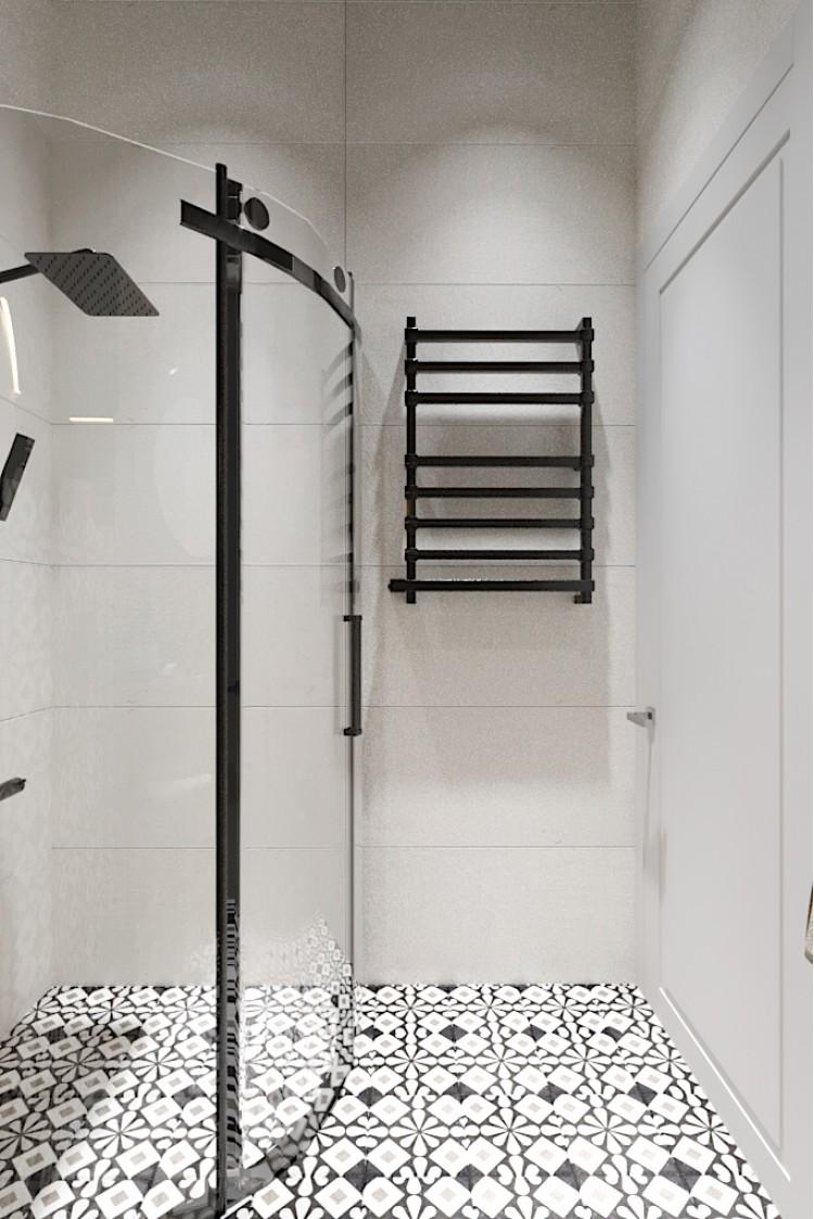 Санузел-1 — Дизайн-проект 3-комнатной квартиры в Эко-стиле, ЖК Комфорт Таун, 77 м.кв — студия дизайна Redis&Co