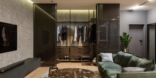 Дизайн-проект Timeless квартиры-студии — 62м.кв.