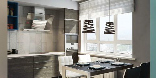 Дизайн-проект 2-комнатной квартиры Blue apartment-75м.кв.