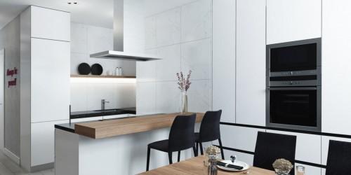 Дизайн-проект 3-комнатной квартиры-140 м.кв.  ЖК София