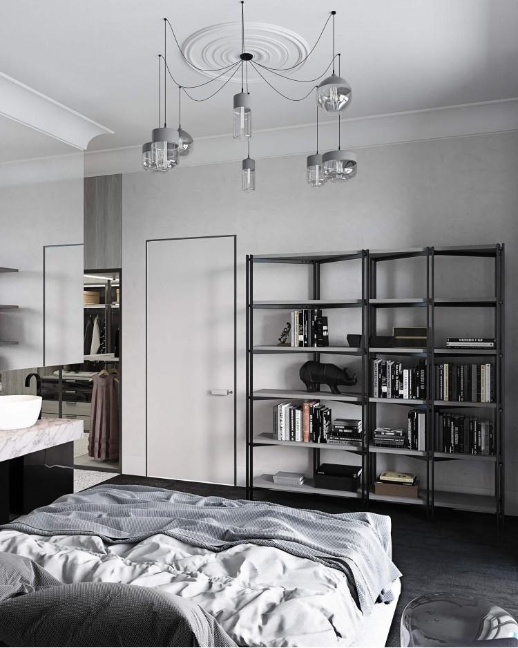 Спальня – фото интерьера № 648