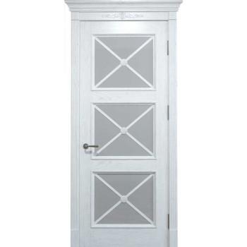 Двери межкомнатные Status Doors Royal Cross RC 022.S01 (Сатиновое стекло)