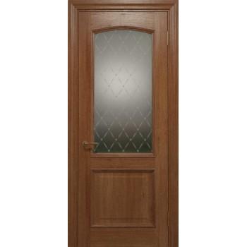 Двери межкомнатные Status Doors ELEGANTE E 012.1(Сатиновое стекло рисунок №1)