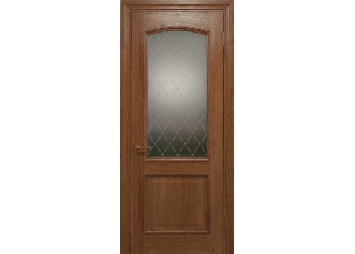 Двери межкомнатные Status Doors ELEGANTE E 012.1(Сатиновое стекло рисунок №1)  1