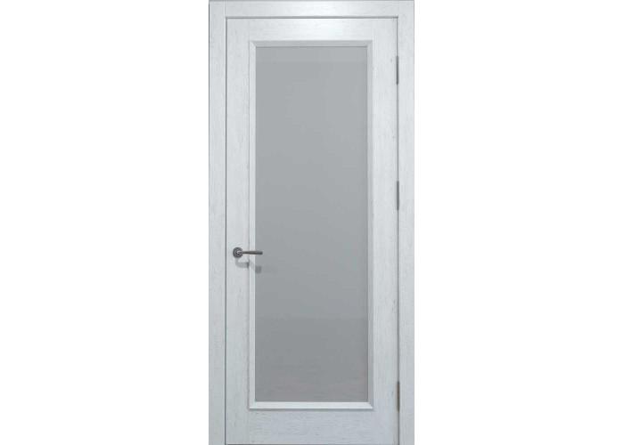 Двери межкомнатные Status Doors Oak Standard OS 012.S01 (Сатиновое стекло)  1
