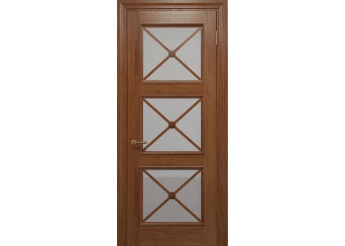 Двери межкомнатные Status Doors CROSS C 022.S01 (Сатиновое стекло)  1