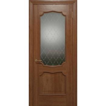 Двери межкомнатные Status Doors ELEGANTE E 022.1(Сатиновое стекло рисунок №1)