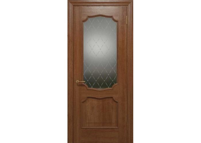 Двери межкомнатные Status Doors ELEGANTE E 022.1(Сатиновое стекло рисунок №1)  1