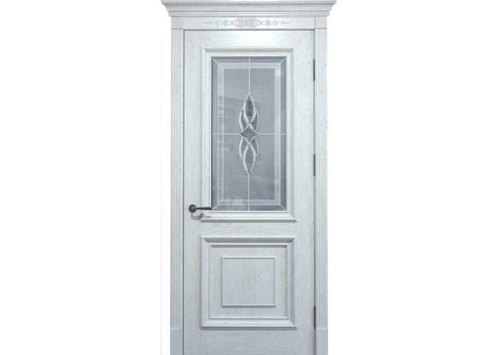 Двери межкомнатные Status Doors Grand Elegance GE 012.S01 (Сатиновое стекло)  1