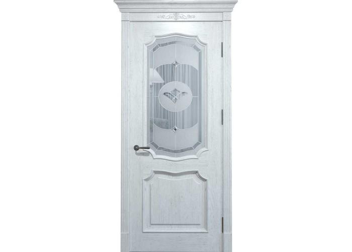 Двери межкомнатные Status Doors Grand Elegance GE 022.S01 (Сатиновое стекло)  1