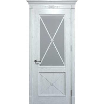 Двери межкомнатные Status Doors Royal Cross RC 012.S01 (Сатиновое стекло)