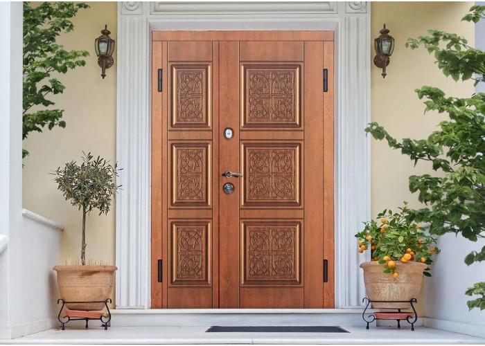 Входные двери для дома – SteelGuard – Ampio – мод. Etna Big Light  2