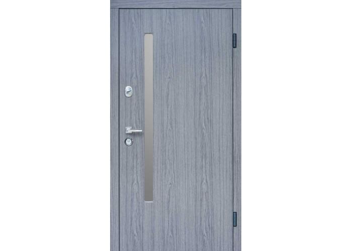 Дверь входная SteelGuard – Resiste – мод. AV-1 Grey Glass  1