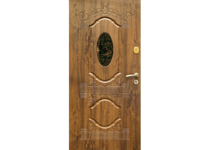 Дверь входная SteelGuard – Resiste – мод. Sangria Glass  2