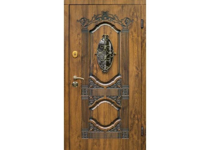 Дверь входная SteelGuard – Resiste – мод. Sangria Glass  1