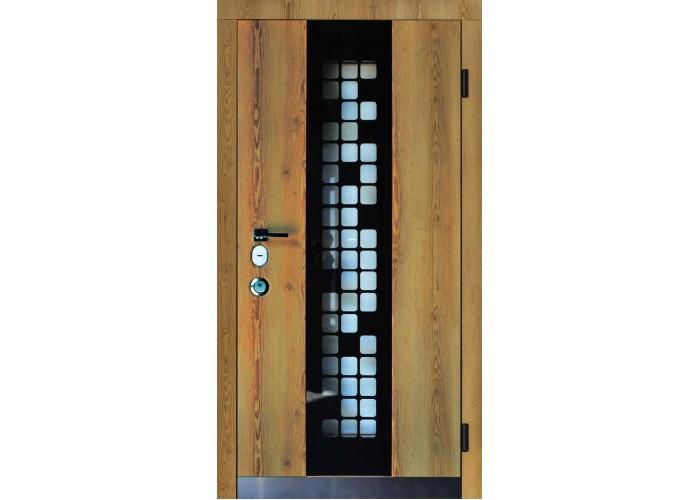 Входная дверь для частного дома – SteelGuard – Forte – мод Manhattan  2
