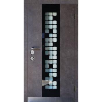 Входная дверь для частного дома – SteelGuard – Forte – мод Manhattan