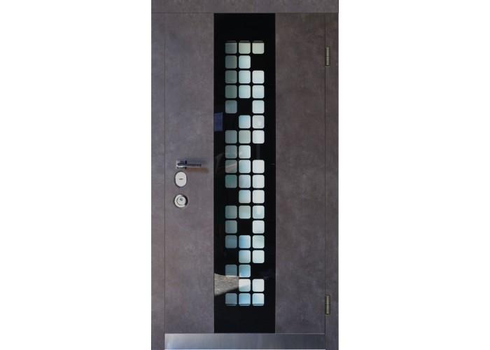 Входная дверь для частного дома – SteelGuard – Forte – мод Manhattan  1