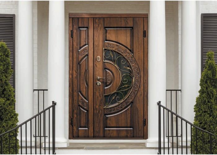 Дверь входная SteelGuard – Vela – мод. Optima Big Glass  2