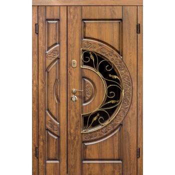 Дверь входная SteelGuard – Vela – мод. Optima Big Glass