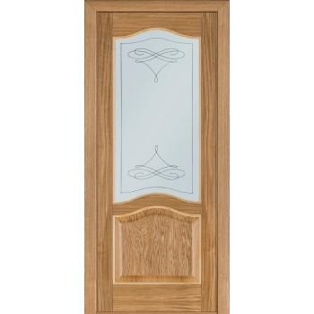 Двери Terminus Classik 03 ПО (Сатиновое стекло Бевелз 11)
