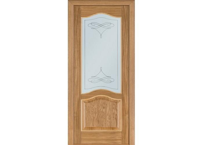 Двери Terminus Classik 03 ПО (Сатиновое стекло Бевелз 11)  1