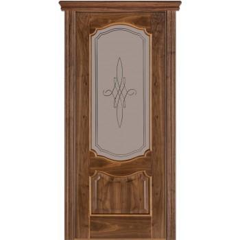 Двери Terminus Caro 41 03.ПО (Сатиновое стекло Бронза рисунок 03)