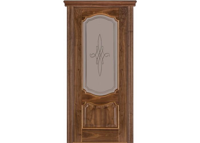 Двери Terminus Caro 41 03.ПО (Сатиновое стекло Бронза рисунок 03)  1