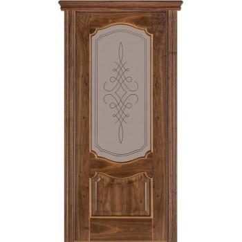 Двери Terminus Caro 41 05.ПО (Сатиновое стекло Бронза рисунок 05)