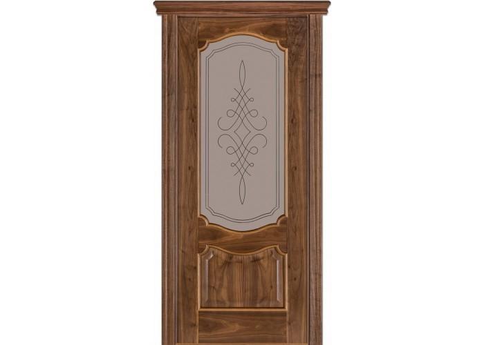 Двери Terminus Caro 41 05.ПО (Сатиновое стекло Бронза рисунок 05)  1