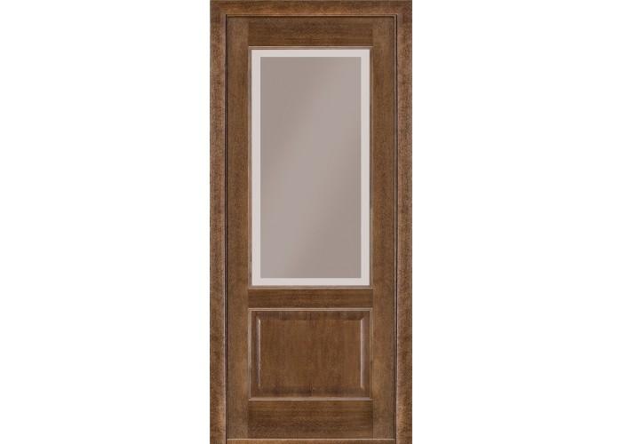 Двери Terminus Classik 04 ПО (Сатиновое стекло Бронза рисунок 23 )  1