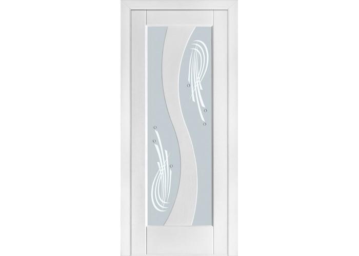 Двери Terminus Modern 15 ПО (Сатиновое стекло рисунок 15)  1
