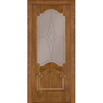 Двери Terminus Classik 08 ПО (Сатиновое стекло Бронза 01)